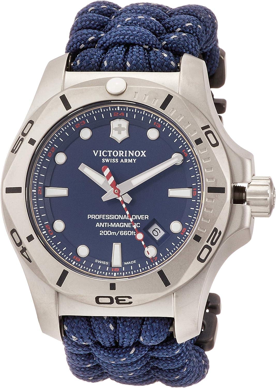 Victorinox Hombre I.N.O.X. Professional Diver - Reloj de Acero Inoxidable de Cuarzo analógico de fabricación Suiza 241843