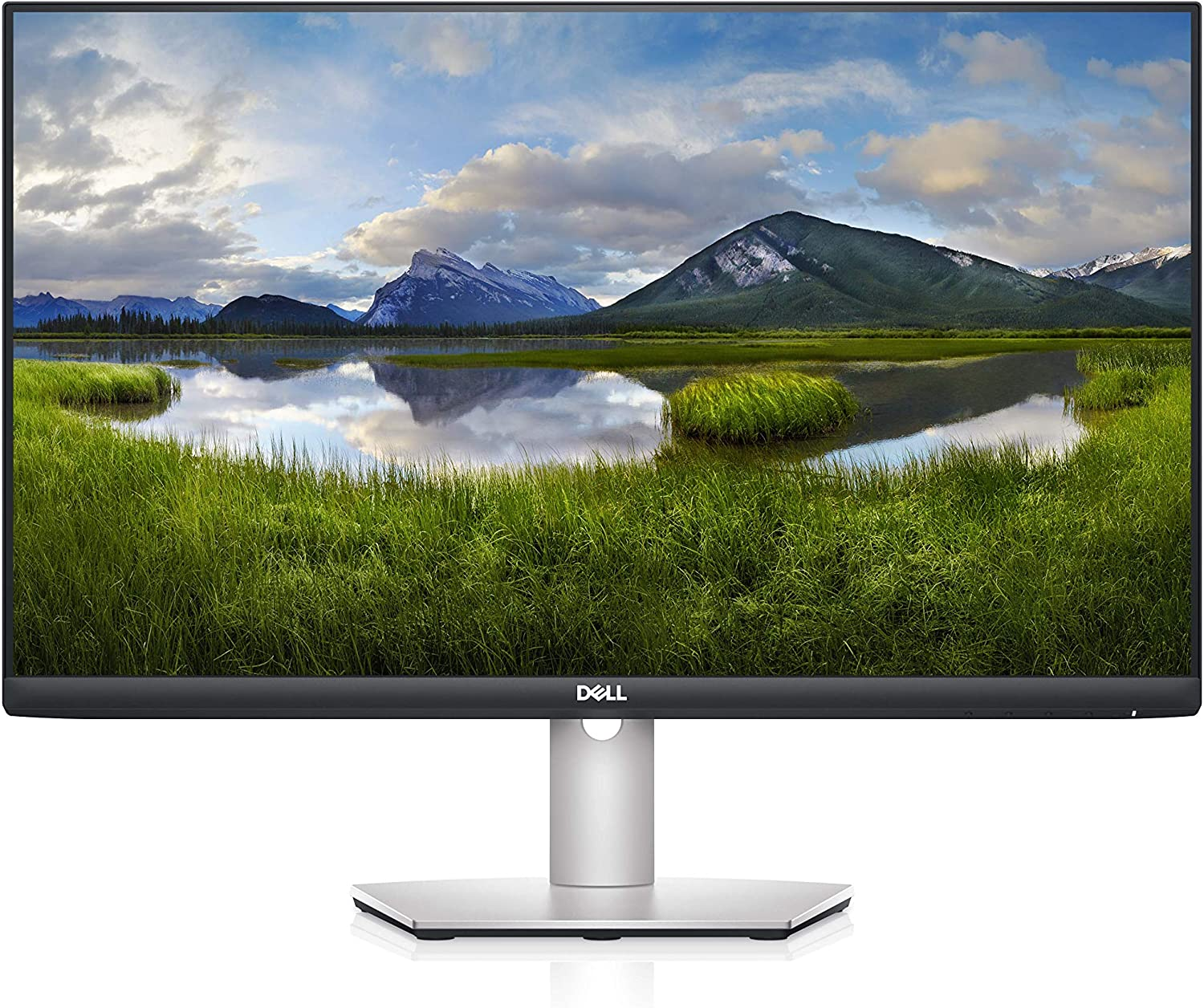 Dell S2421HS 24 Inch Full HD 1080p, IPS Ultra-Thin Bezel Monitor, Silver, Black