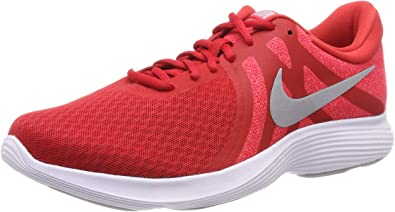 Nike Revolution 4 Eu-aj3490, Zapatillas de Running para Asfalto para Hombre, Multicolor (University Red/Wolf Grey/Red Orbit/White 601), 44.5 EU: Amazon.es: Zapatos y complementos