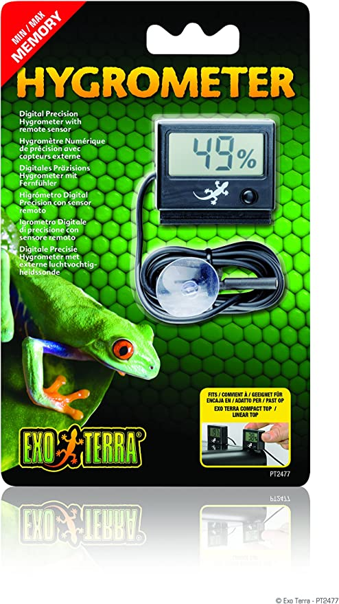 Higrómetro Digital EXO TERRA