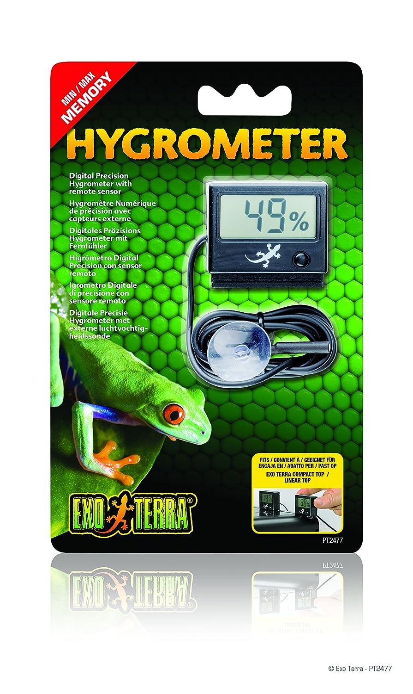 Exo Terra Digital Hygrometer with Probe PT2477