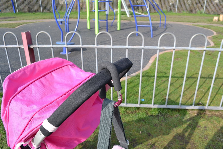 rosa Limitierte Auflage My Buggy Buddy MBBCLIPPK Kinderwagen Clip