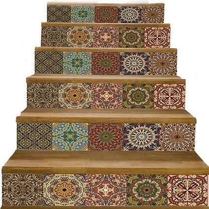 Classic quality La Mode Murale Escalier 3D-Style Arabe ...