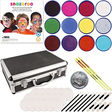 Snazaroo 12-Color Kit