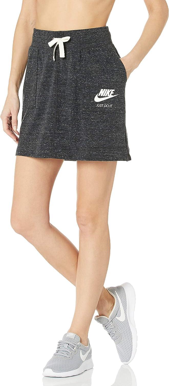 Nike Sportswear Gym Vintage Falda Mujer Negro L (Large): Amazon.es ...