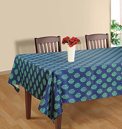 Amazoncom Shalinindia Tablecloth 60 X 90 Inches For 4 6 Seater 6
