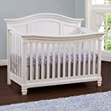 Baby Cache Glendale 4 in 1 Convertible Crib, White
