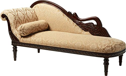 Design Toscano Swan Fainting Left Version Couch