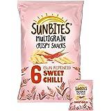 Walkers Sunbites Sun Ripened Sweet Chilli Multigrain Crispy Snacks, 25 g (6 Pack)