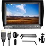Neewer NW-760 Field Monitor Ultra-thin 7 inches IPS Screen 1080P Full HD 1920x1200 support 4k input HDMI with Histogram, Focus Assist, Overexposure Prompting 16:10 Display Ratio for DSLR Camera