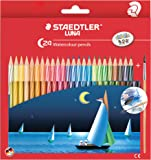 Staedtler Luna Classic 24-Color Water Color Pencil Set