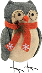 8e9550e27a8 Wondershop 35ct Christmas Xmas Incandescent Sisal Owl with Glasses Indoor  Outdoor Decor Decoration Lights