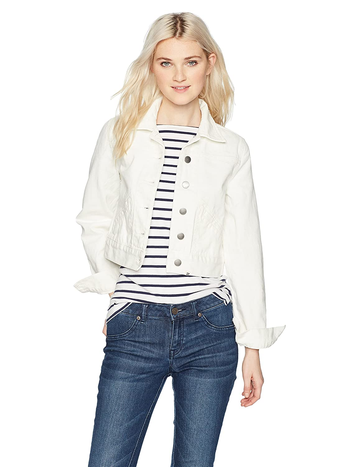 Sea bleach BILLABONG Womens Beaming Dream Jacket Denim Jacket