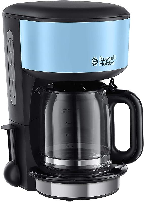 Russell Hobbs 20136-56 Cafetera, Jarra de Cristal, 1.25 L: Amazon ...