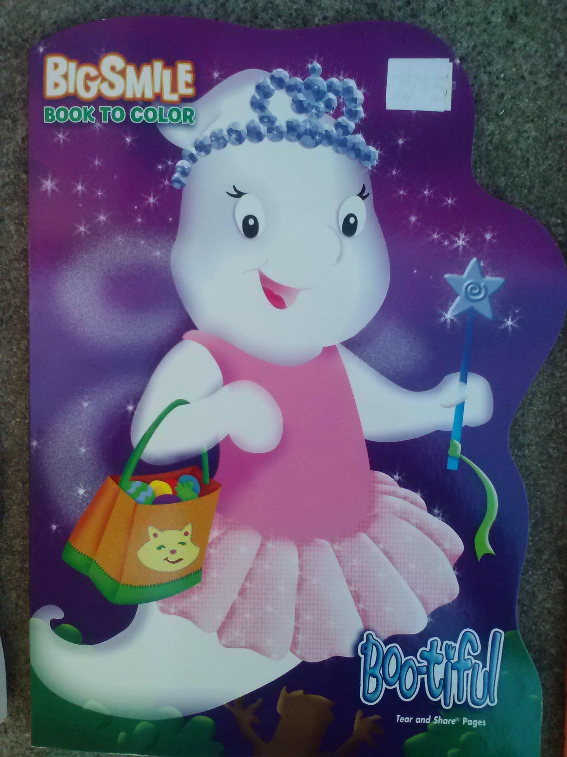 Download Halloween Big Smile Book to Color ~ Boo-tiful PDF
