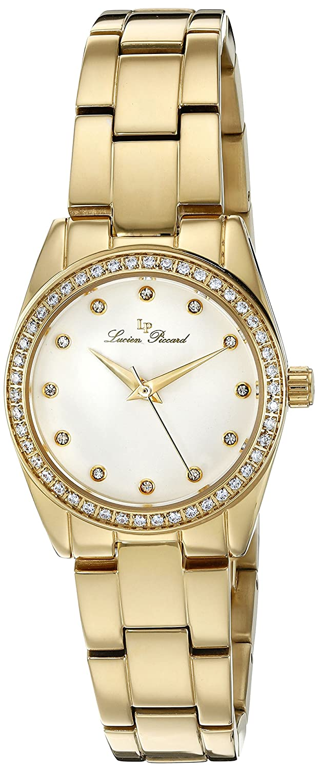 Amazon.com: Lucien Piccard Womens LaBelle Quartz Stainless Steel Casual Watch (Model: LP-40023-YG-22): Watches