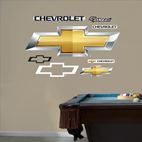 Fathead Wall Decal, Real Big, U0026quot;GM Chevrolet Bowtie ...