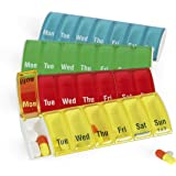Anabox 7 Day Pill Organiser (Colours May Vary)