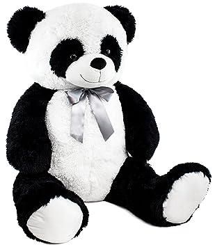 BRUBAKER Peluche Panda con Cinta - 80 cm
