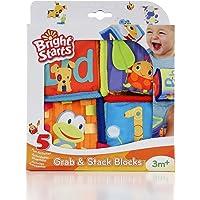 Bright Starts Grab&Stack Yumuşak Oyun Küpleri 14BRGT009052STD