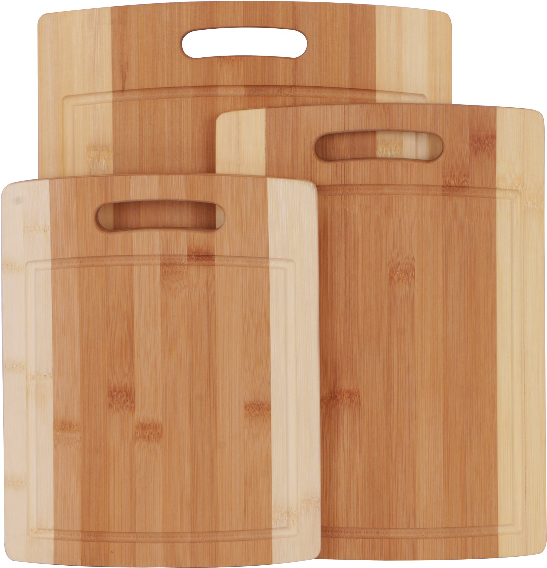 Utopia Kitchen Natural Bamboo Cutting Boards for Kitchen with Juice Groove Wooden Cutting Board Set of 3 - Chopping Boards for Vegetable, Fruits, Meat and Cheese by Utopia Kitchen (Image #7)