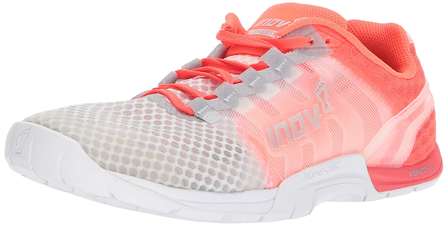 Inov-8 Women's F-Lite 235 V2 Chill Sneaker B01N4BF1C9 W10.5 E US|Clear/Coral