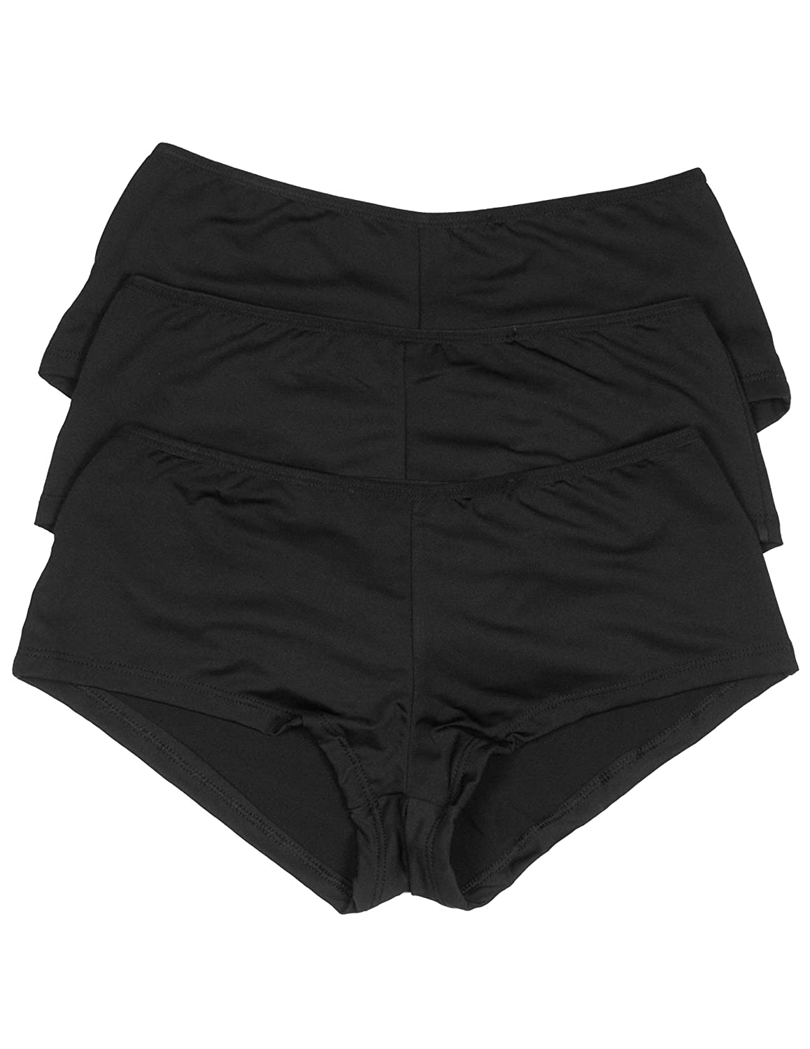 Body Frosting Multi Pack Caged Boy Shorts