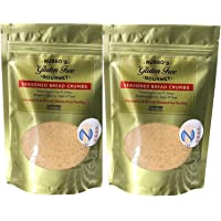 Russo's Gluten Free Bread crumbs (2 Pack X 8 Oz) - Seasoned Absolutely Gluten Free Breadcrumbs -Delicious & Tasty, Made in a strictly Glutenfree Facility