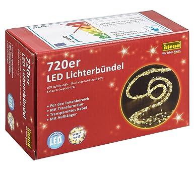 Idena LED Lichterbündel mit 720 LEDs, für den Innenbereich ...