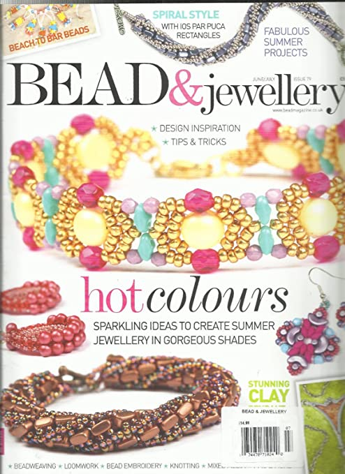 Amazon Com Bead Jewellery Magazine Design Inspiration Tips