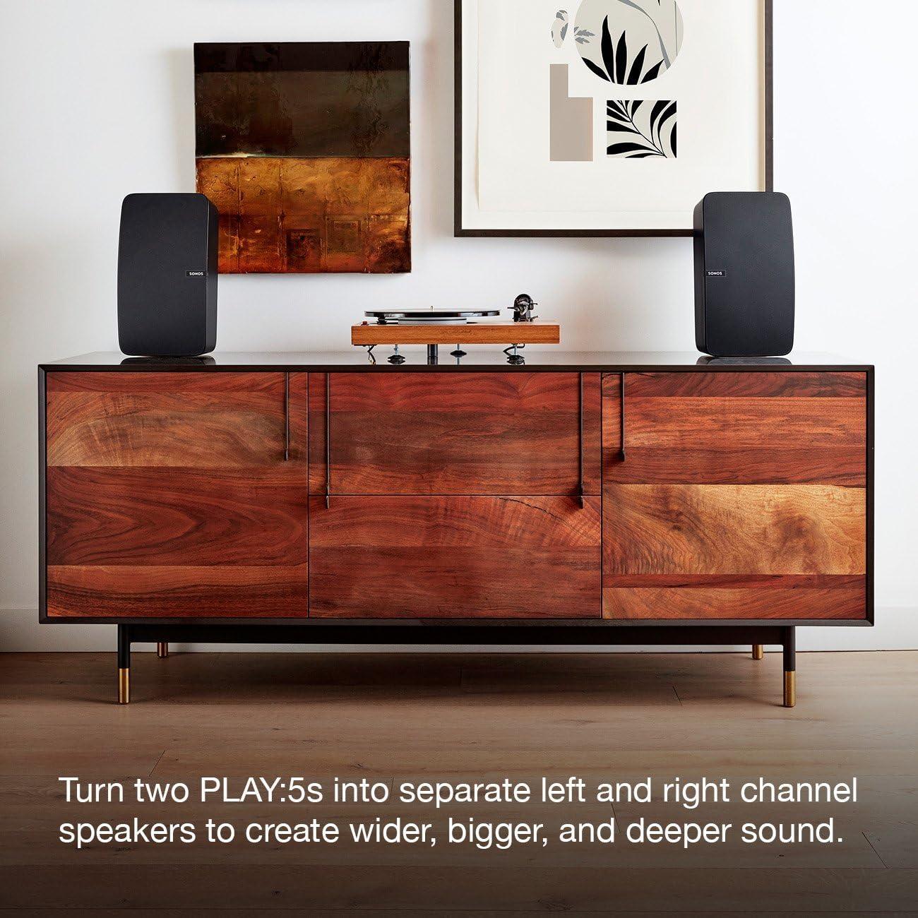 Sonos Play:5 - Ultimate Wireless Smart Speaker - Black