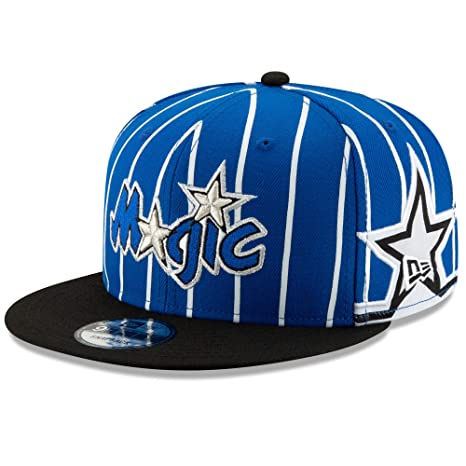 new concept 1f6f3 c2518 Image Unavailable. Image not available for. Color  New Era NBA Men s  Orlando Magic Hardwood Classic Nights 3 9Fifty Adjustable Snapback Hat Blue