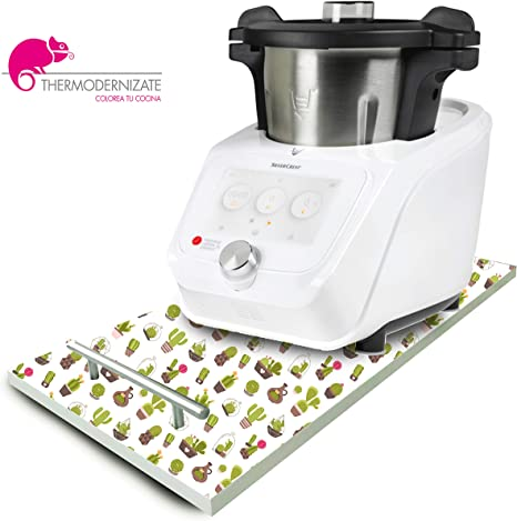 Thermodernizate Tabla transportadora para Monsieur Cuisine Connect Modelo Cactus: Amazon.es