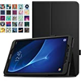 "MoKo Samsung Galaxy Tab A 10.1 Case - Slim Folding Cover with Auto Wake / Sleep for Samsung Galaxy Tab A 10.1"" 2016 Tablet (SM-T580 / SM-T585, No Pen Version), BLACK"