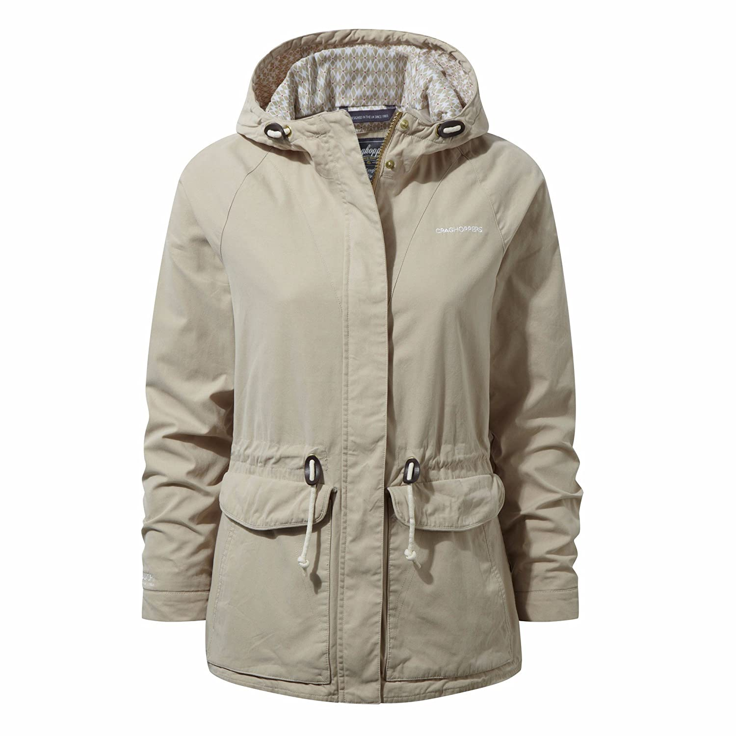 Craghoppers - Chaqueta impermeable para mujer