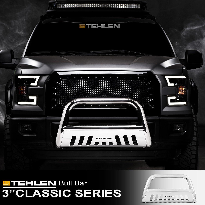 Polished Stainless Steel For 2010-2020 Toyota 4Runner Stehlen 714937181083 3 Classic Series Bull Bar