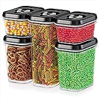 DWËLLZA KITCHEN Airtight Food Storage Containers with Lids Airtight - 5 Piece Set - Kitchen & Pantry Organization…