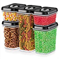 DWËLLZA KITCHEN Airtight Food Storage Containers with Lids Airtight - 5 Piece Set...