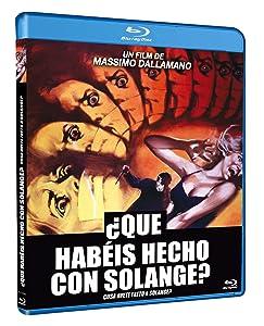 ¿Qué habéis hecho con Solange? BD 1972 Cosa avete fatto a Solange?