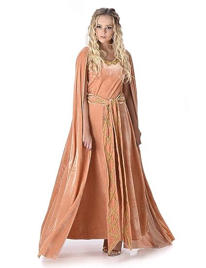 Disfraz de princesa vikinga mujer