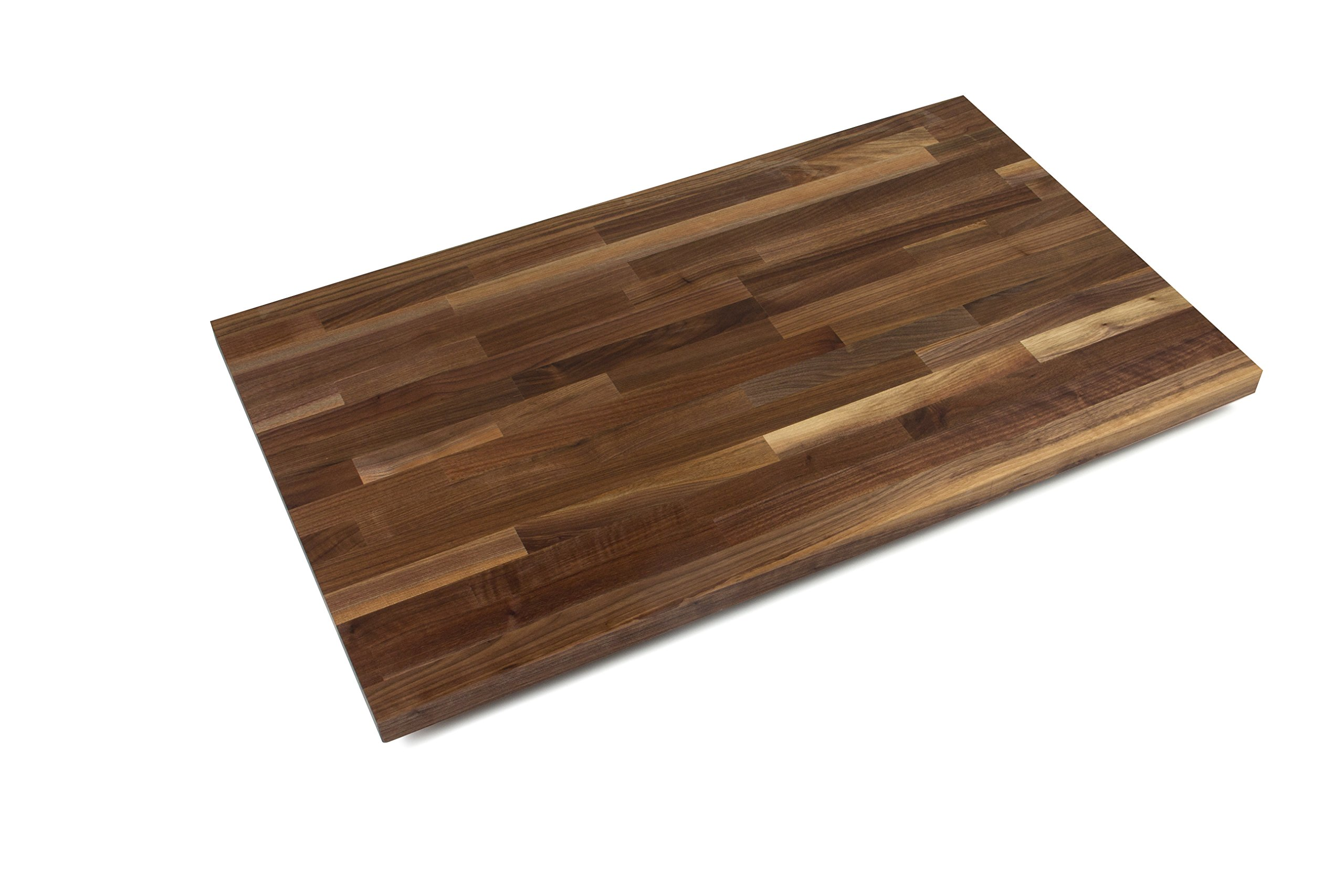 John Boos WALKCT-BL6025-O Blended Walnut Counter Top with Oil Finish, 1.5'' Thickness, 60'' x 25''