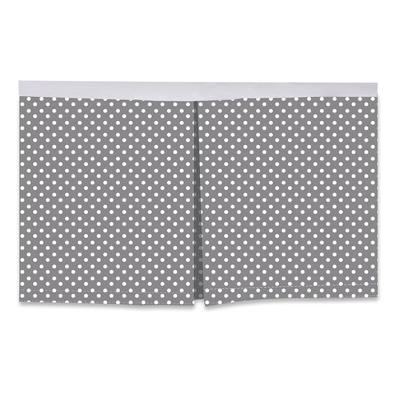 13 13 Inc MMYEPDCSK Bacati Pin Dots Crib//Toddler Bed Skirt Yellow