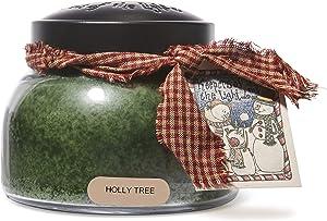 A Cheerful Giver Holly Tree 22 oz. Mama Jar Candle, 22oz