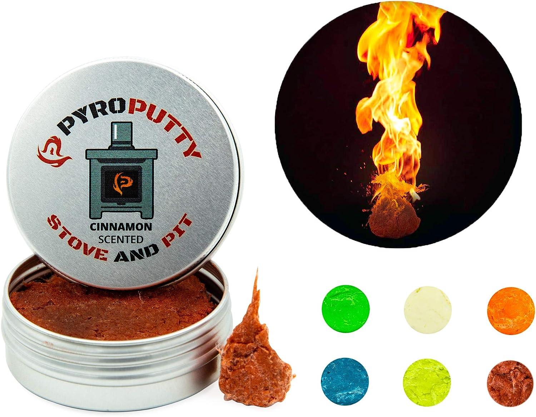 Phone Skope PYRO Putty Winter, Summer, Eco Blend, Emergency Survival Fire Starter