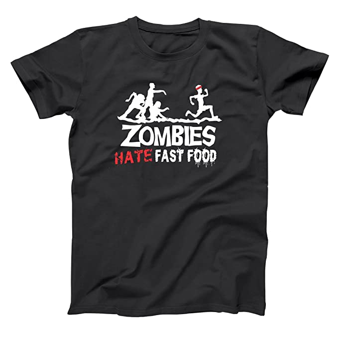 Amazon.com: Zombies Hate Fast Food Undead andadores Walking ...