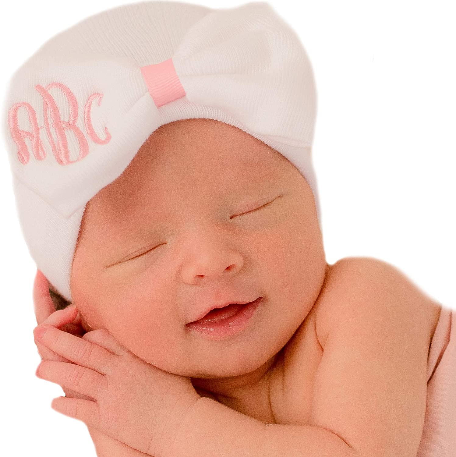 Perfect hospital gift for baby girl Hello World Baby Shower newborn girl gift. Hospital Newborn Beanie Newborn baby girl hospital hat
