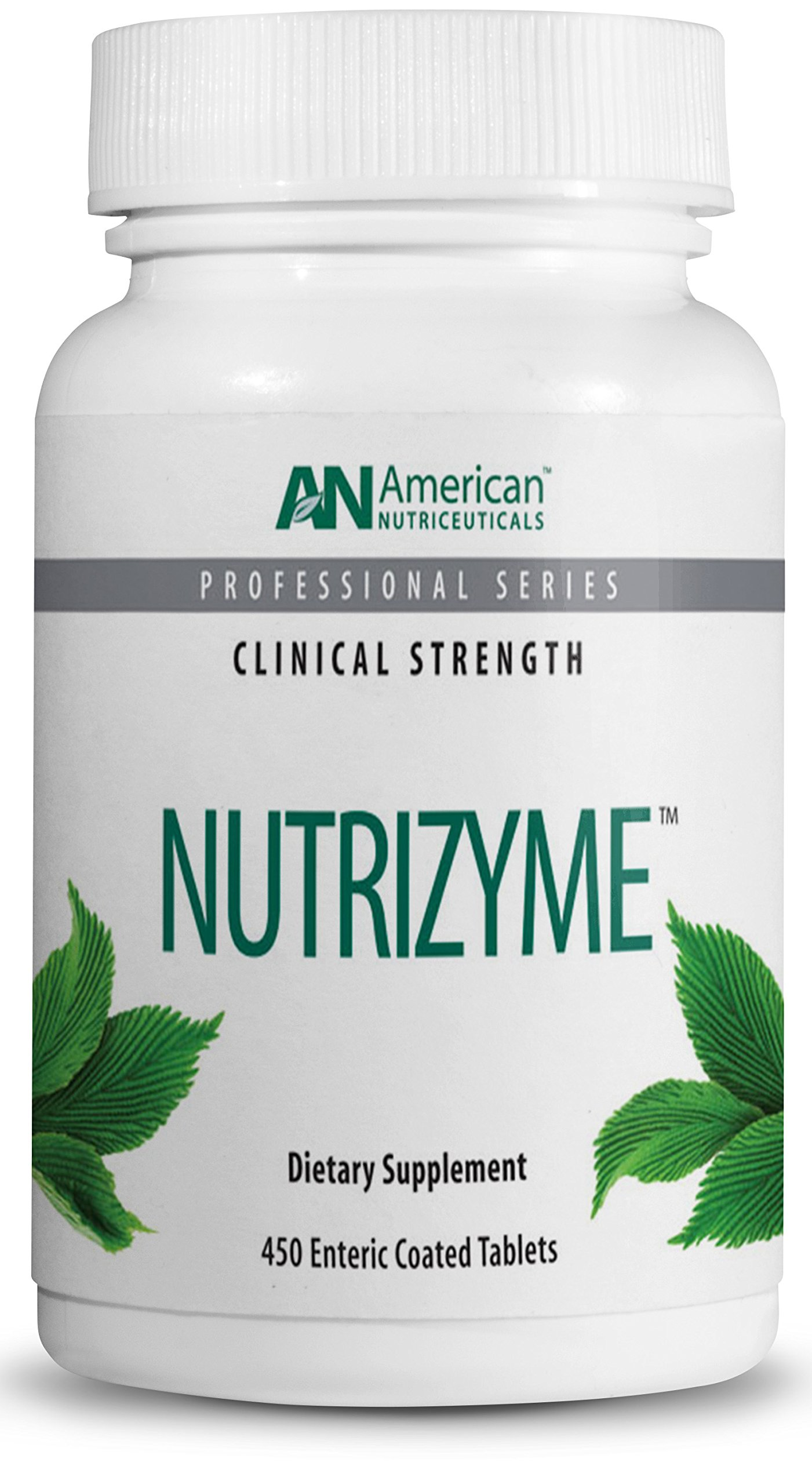 American Nutriceuticals - Nutrizyme - 450 Tablets | Professionally Formulated Proteolytic Enzyme Complex | Supports Immunity