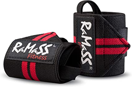 RAMASS Fitness Muñequera, Muñequeras Crossfit, Wrist Wraps Gym ...