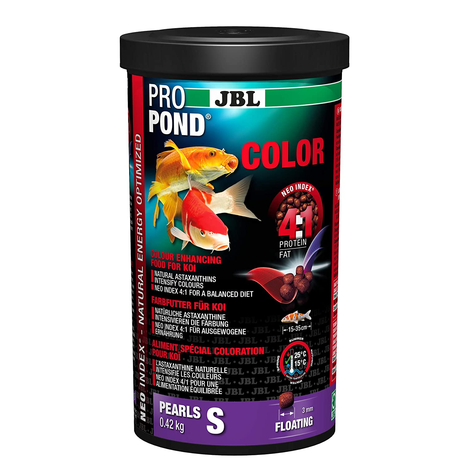 JBL ProPond Colour S Pack of 3 x 420 g
