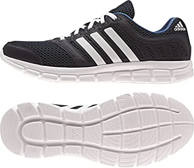 10993902d6289f adidas Men s Breeze 101 2 M Running Shoe Collegiate Navy White Equipment  Blue 10